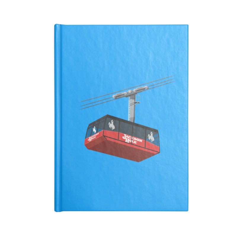 Jackson Hole Ski Resort Accessories Lined Journal Notebook by steveash's Artist Shop