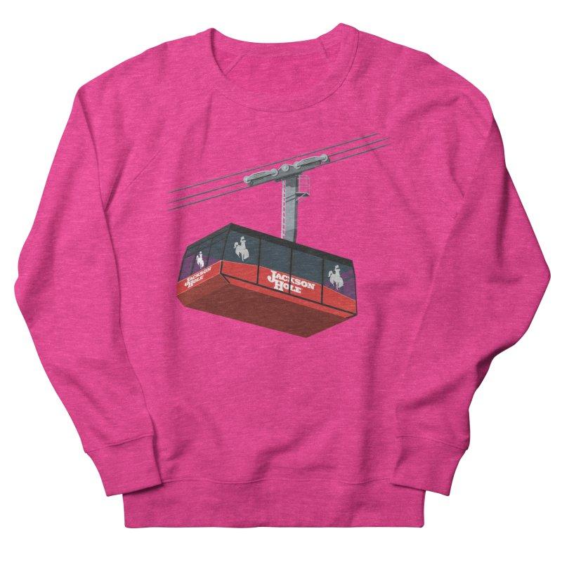 Jackson Hole Ski Resort Men's French Terry Sweatshirt by steveash's Artist Shop