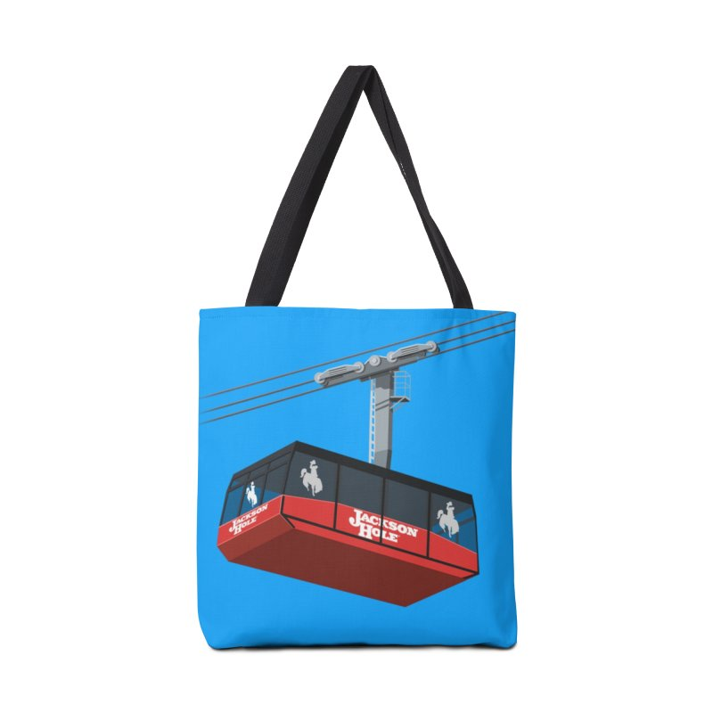 Jackson Hole Ski Resort Accessories Bag by steveash's Artist Shop