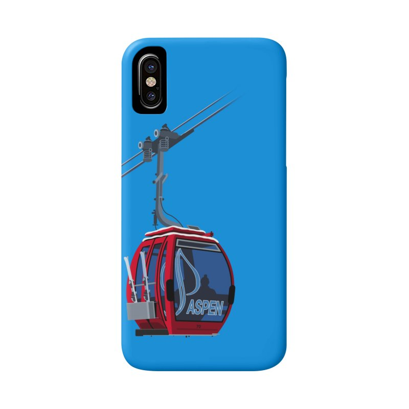 Aspen Ski Accessories Phone Case by steveash's Artist Shop