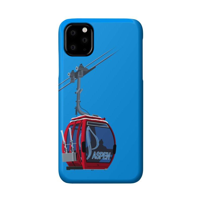 Aspen Ski Accessories Phone Case by steveash's Artist Shop