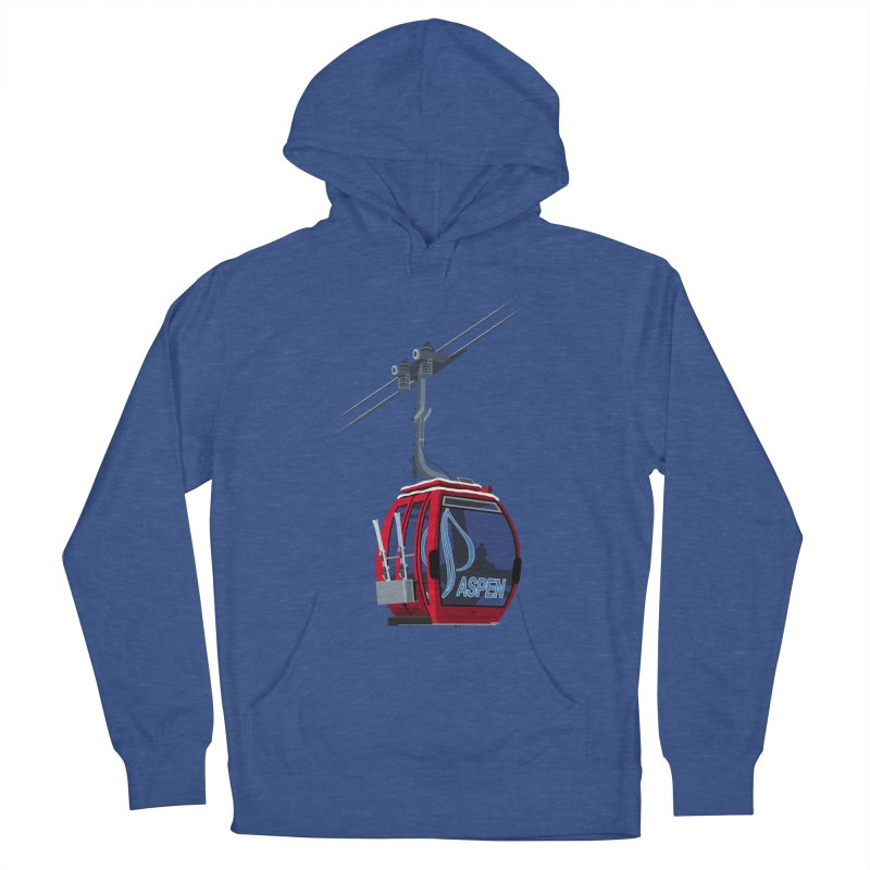 Aspen Ski Men's Pullover Hoody by steveash's Artist Shop