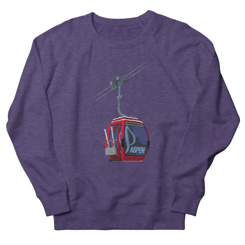 Aspen Ski Women's Sweatshirt by steveash's Artist Shop