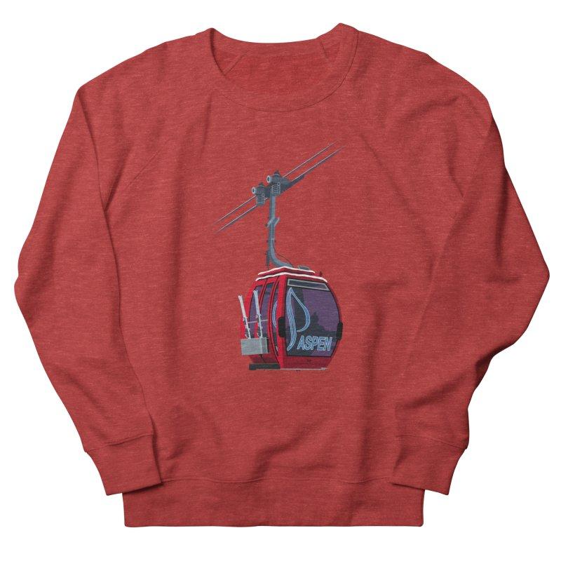 Aspen Ski Women's Sweatshirt by steveash's Artist Shop