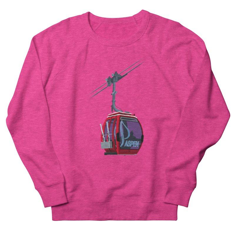 Aspen Ski Men's Sweatshirt by steveash's Artist Shop