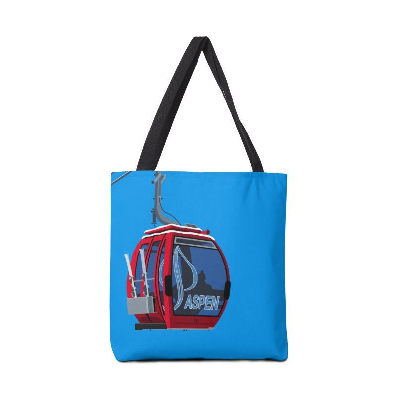 Aspen Ski Accessories Bag by steveash's Artist Shop