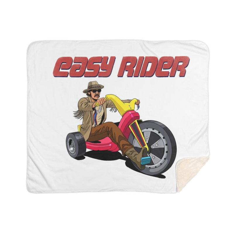Easy Rider Home Sherpa Blanket Blanket by steveash's Artist Shop