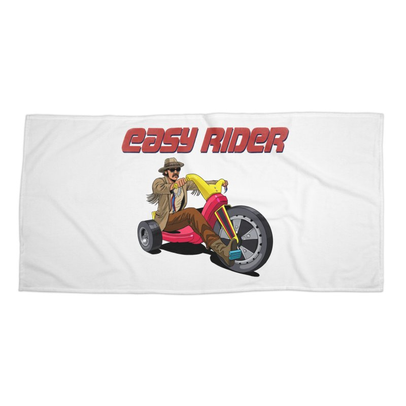 Easy Rider Accessories Beach Towel by steveash's Artist Shop