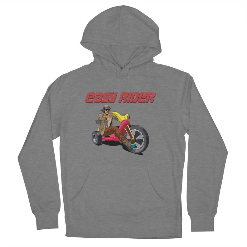 Easy Rider Women's Pullover Hoody by steveash's Artist Shop