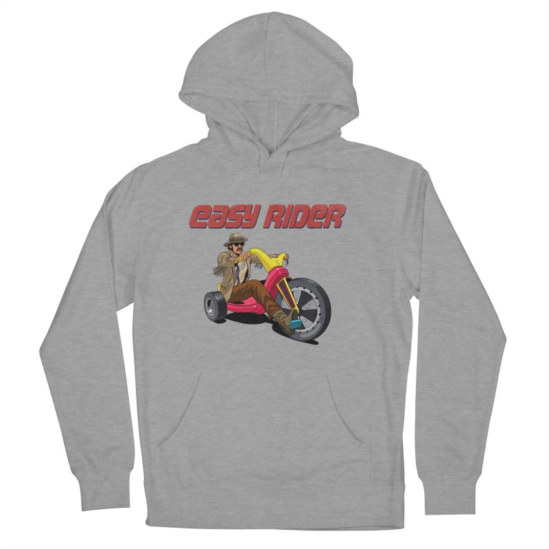 Easy Rider Women's Pullover Hoody by steveash's Artist Shop