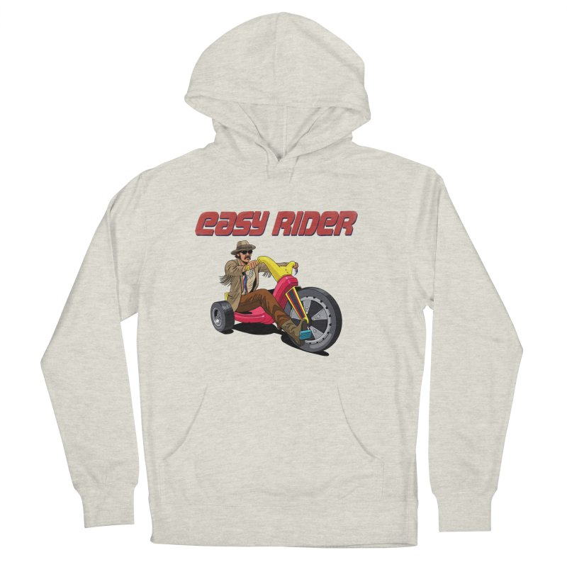 Easy Rider Women's French Terry Pullover Hoody by steveash's Artist Shop