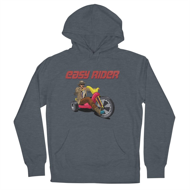 Easy Rider Men's French Terry Pullover Hoody by steveash's Artist Shop