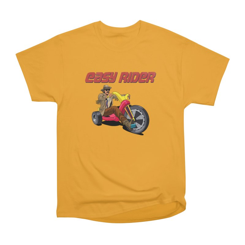 Easy Rider Women's Heavyweight Unisex T-Shirt by steveash's Artist Shop