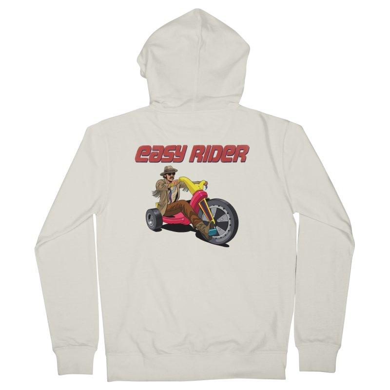 Easy Rider Women's Zip-Up Hoody by steveash's Artist Shop