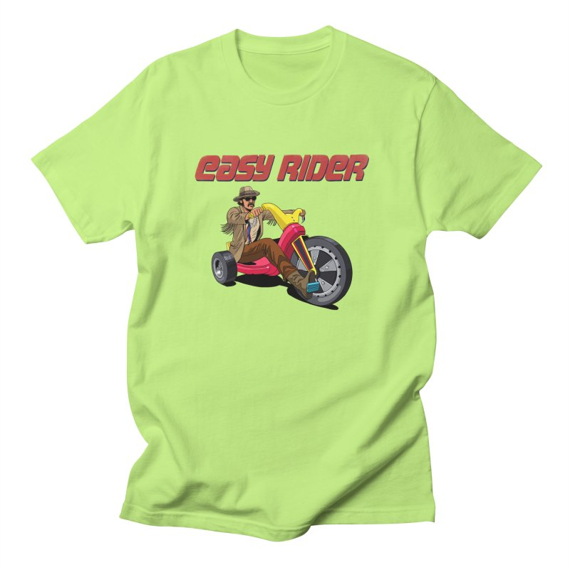 Easy Rider Women's Regular Unisex T-Shirt by steveash's Artist Shop
