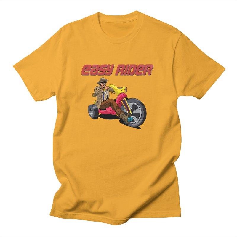 Easy Rider Men's Regular T-Shirt by steveash's Artist Shop