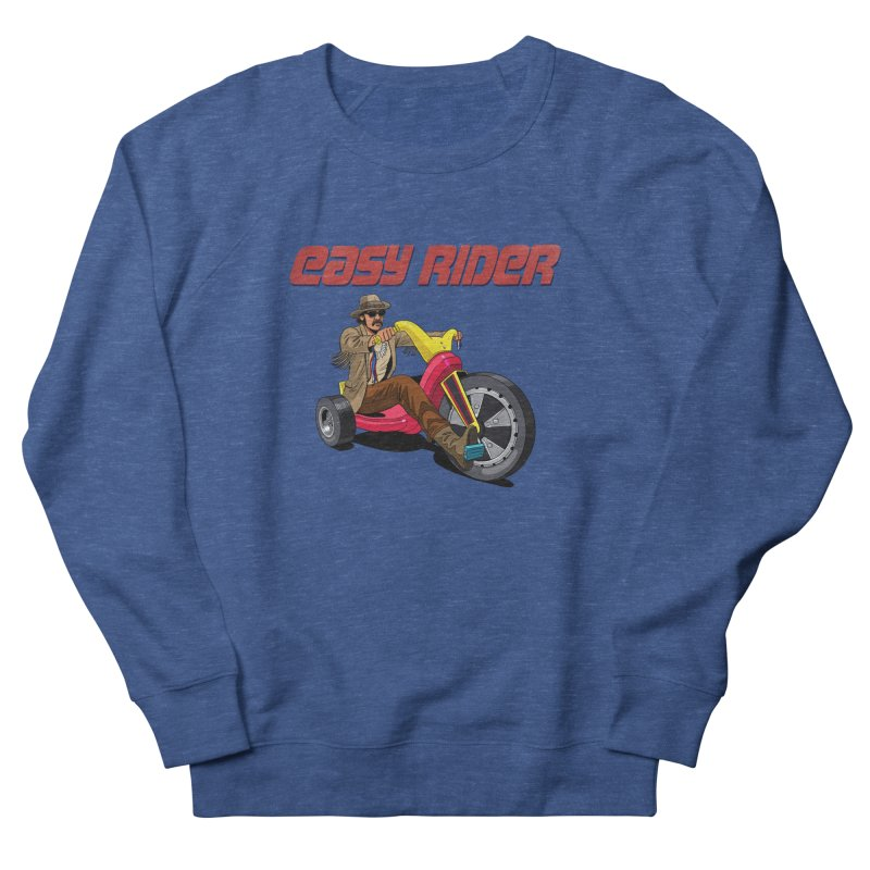 Easy Rider Women's French Terry Sweatshirt by steveash's Artist Shop
