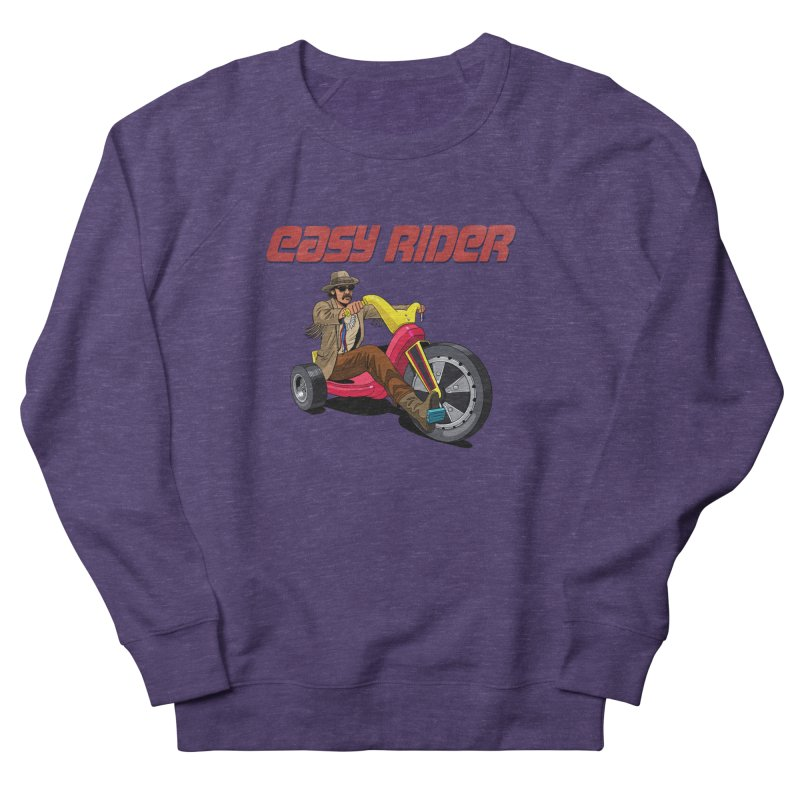 Easy Rider Men's French Terry Sweatshirt by steveash's Artist Shop