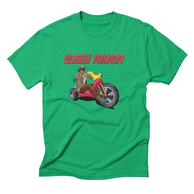 Easy Rider Men's Triblend T-Shirt by steveash's Artist Shop