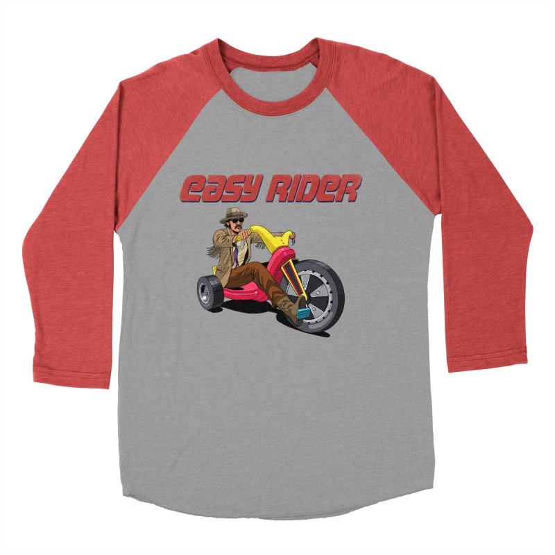 Easy Rider Women's Baseball Triblend Longsleeve T-Shirt by steveash's Artist Shop