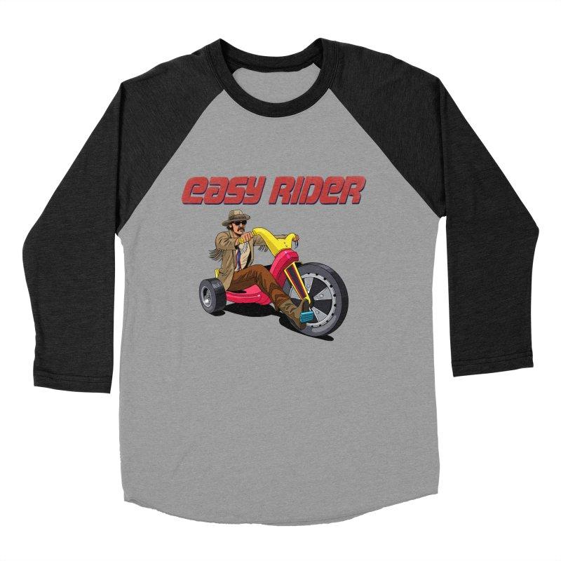 Easy Rider Women's Baseball Triblend Longsleeve T-Shirt by steveash's Artist Shop