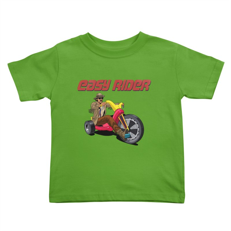 Easy Rider Kids Toddler T-Shirt by steveash's Artist Shop