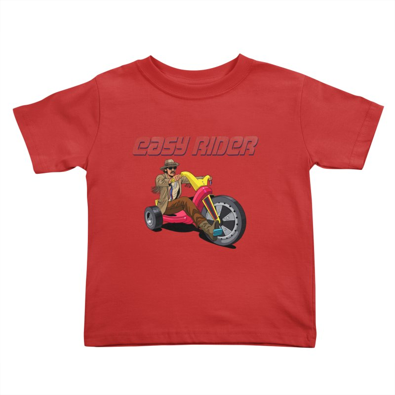 Easy Rider Kids Toddler T-Shirt by steveash's Artist Shop