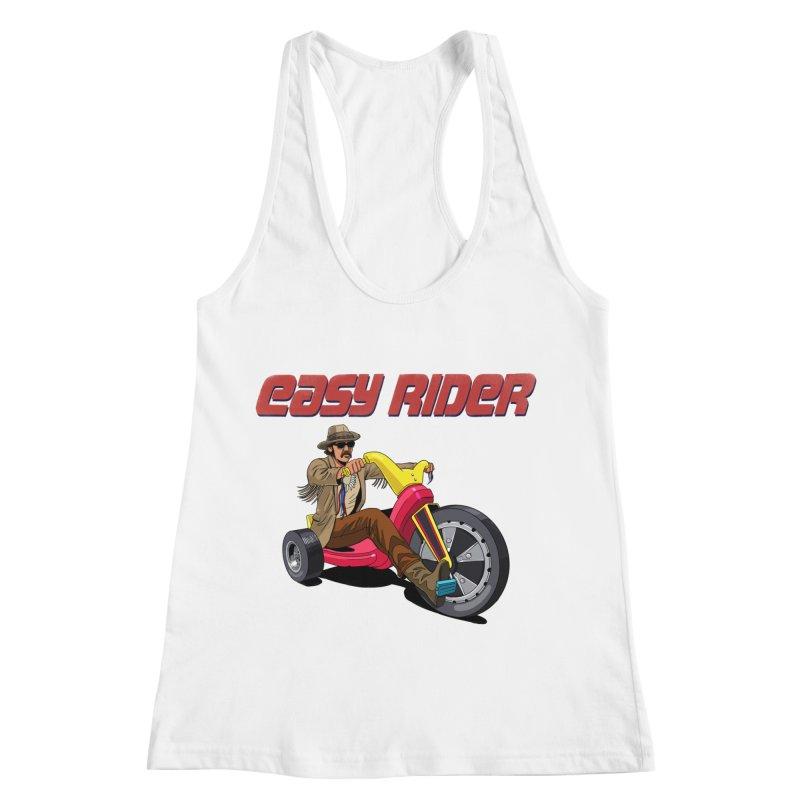 Easy Rider Women's Racerback Tank by steveash's Artist Shop