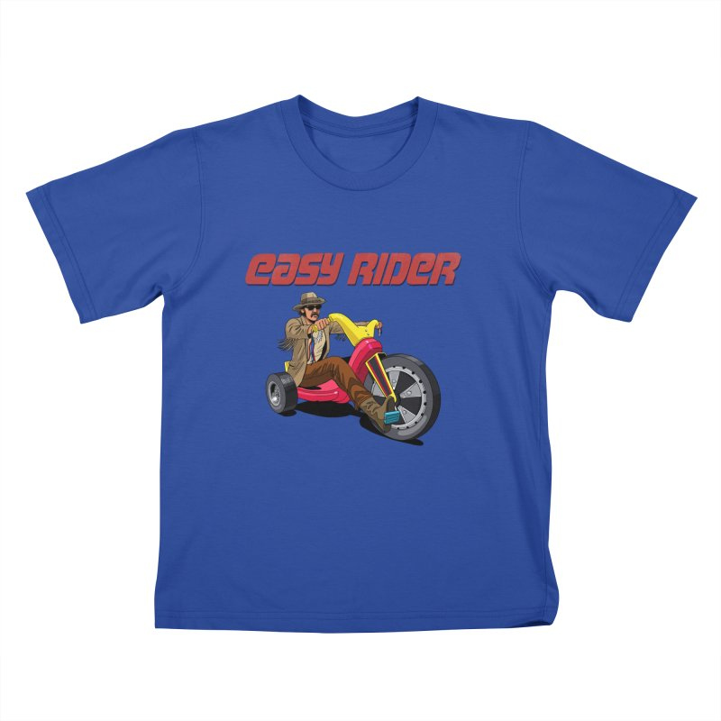 Easy Rider Kids T-Shirt by steveash's Artist Shop