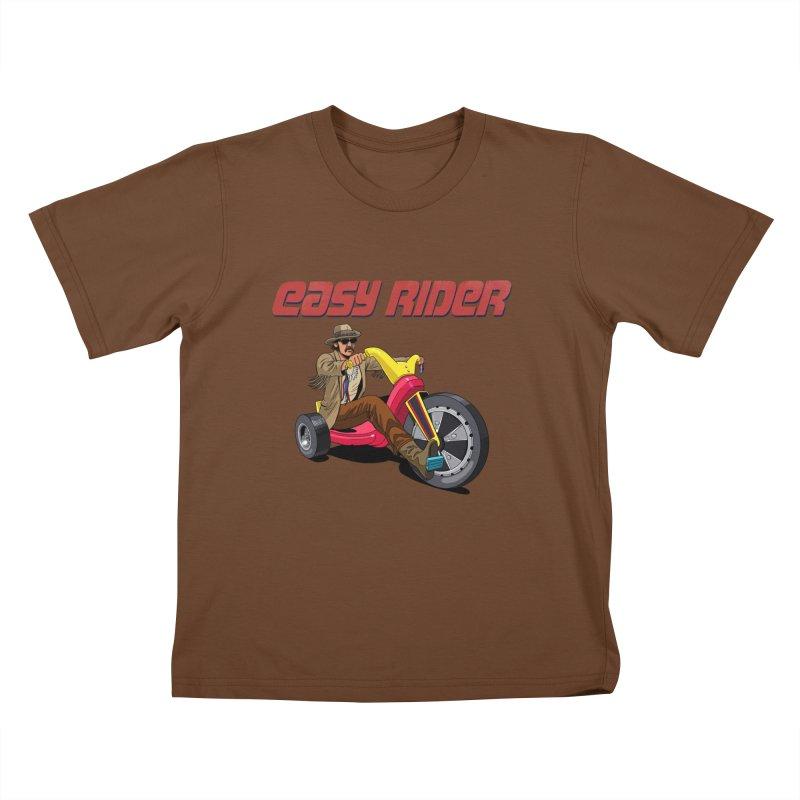 Easy Rider Kids T-Shirt by steveash's Artist Shop