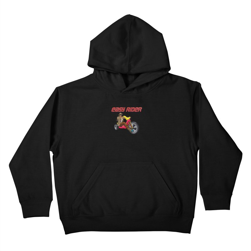 Easy Rider Kids Pullover Hoody by steveash's Artist Shop