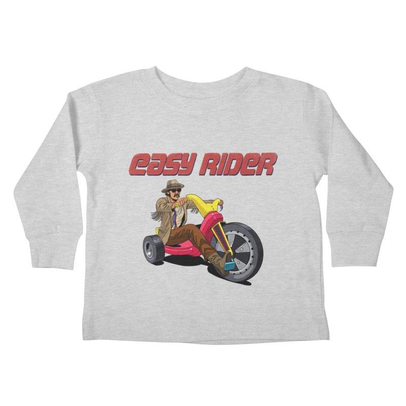Easy Rider Kids Toddler Longsleeve T-Shirt by steveash's Artist Shop