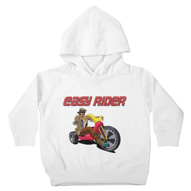 Easy Rider Kids Toddler Pullover Hoody by steveash's Artist Shop