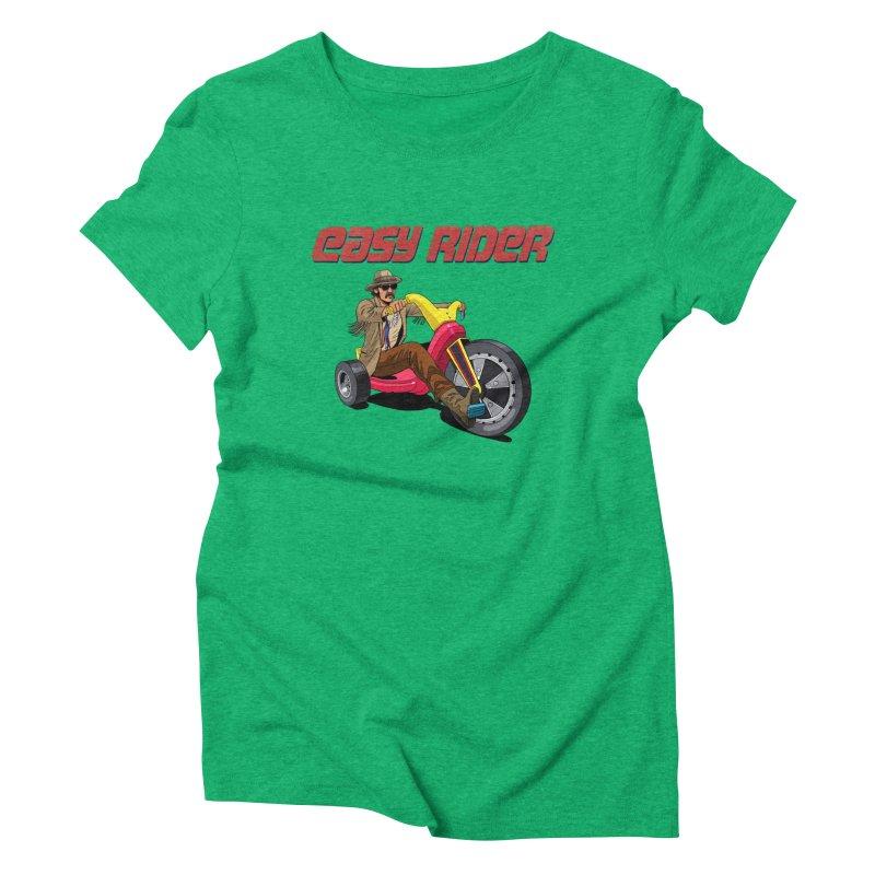Easy Rider Women's Triblend T-Shirt by steveash's Artist Shop