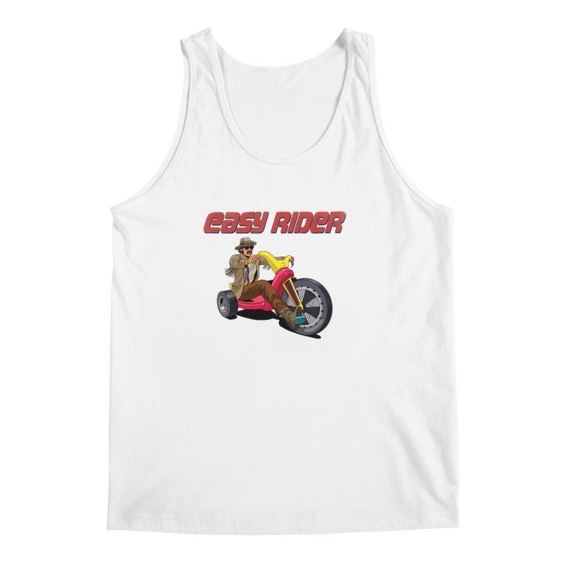 Easy Rider Men's Regular Tank by steveash's Artist Shop