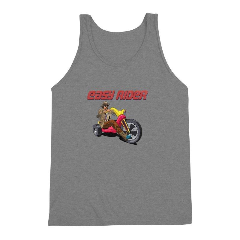 Easy Rider Men's Triblend Tank by steveash's Artist Shop