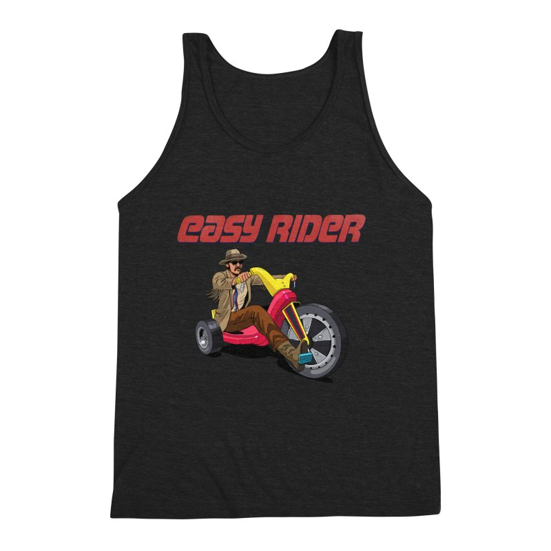 Easy Rider Men's Triblend Tank by steveash's Artist Shop
