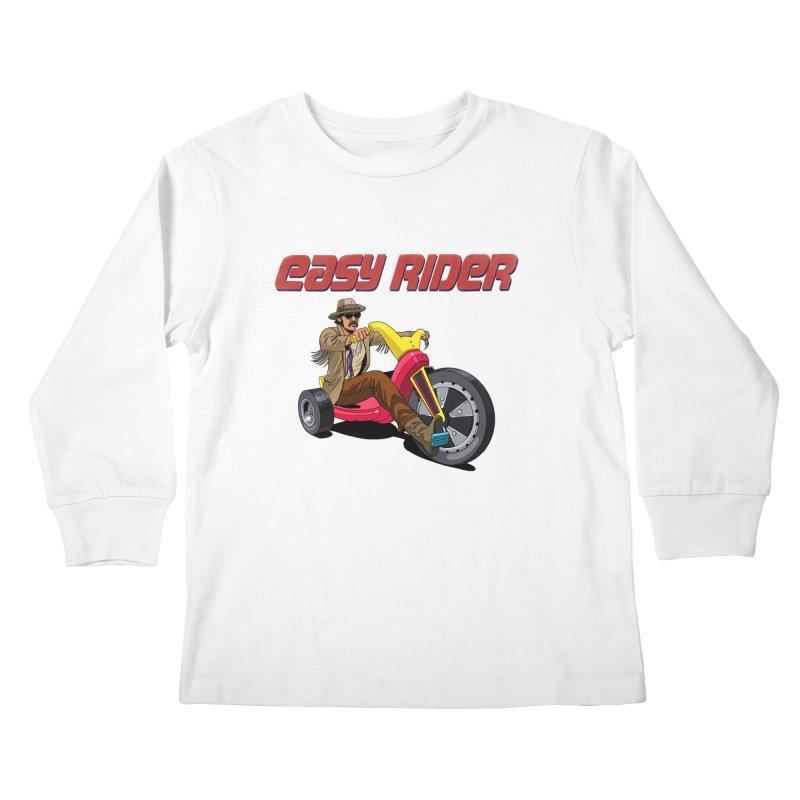 Easy Rider Kids Longsleeve T-Shirt by steveash's Artist Shop
