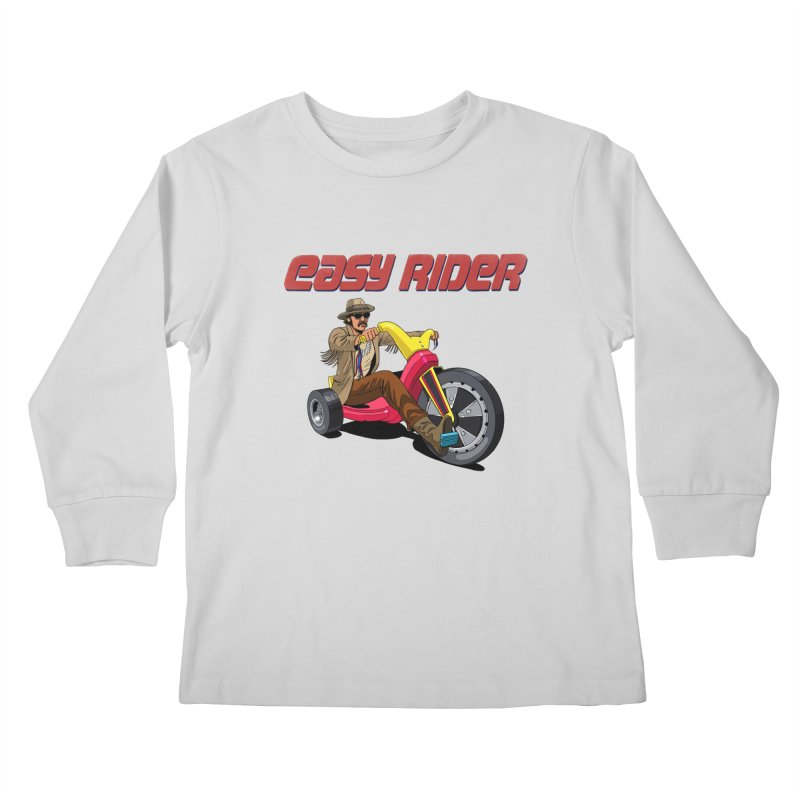 Easy Rider Kids Longsleeve T-Shirt by steveash's Artist Shop