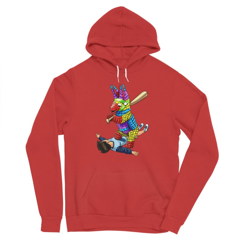 Revenge is Sweet Men's Sponge Fleece Pullover Hoody by steveash's Artist Shop