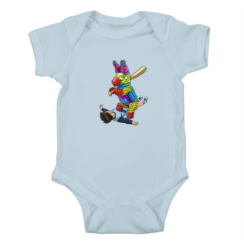 Revenge is Sweet Kids Baby Bodysuit by steveash's Artist Shop