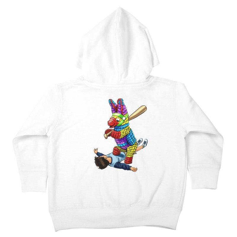 Revenge is Sweet Kids Toddler Zip-Up Hoody by steveash's Artist Shop