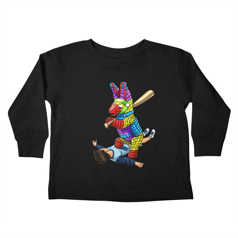 Revenge is Sweet Kids Toddler Longsleeve T-Shirt by steveash's Artist Shop