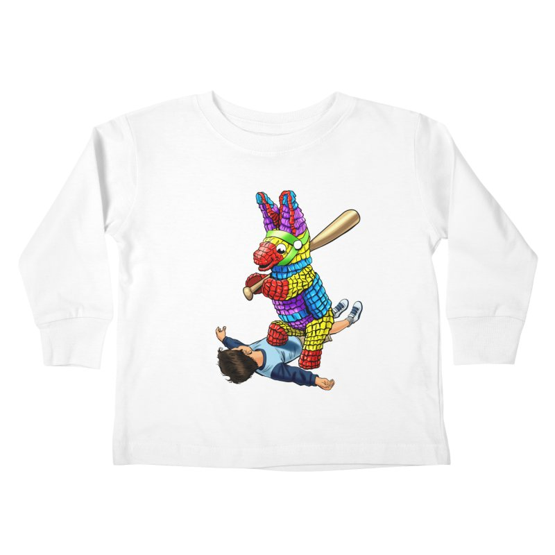 Revenge is Sweet Kids Toddler Longsleeve T-Shirt by steveash's Artist Shop
