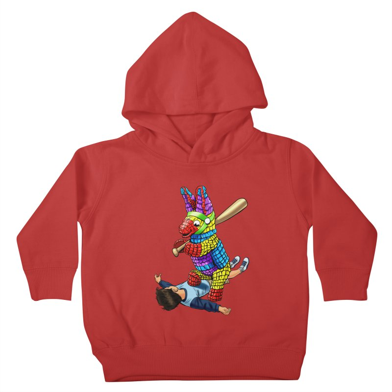 Revenge is Sweet Kids Toddler Pullover Hoody by steveash's Artist Shop