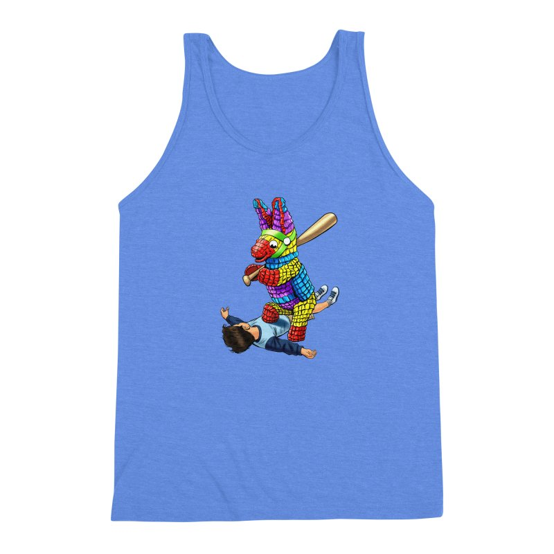 Revenge is Sweet Men's Triblend Tank by steveash's Artist Shop