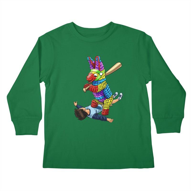 Revenge is Sweet Kids Longsleeve T-Shirt by steveash's Artist Shop