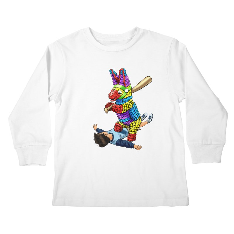 Revenge is Sweet Kids Longsleeve T-Shirt by steveash's Artist Shop