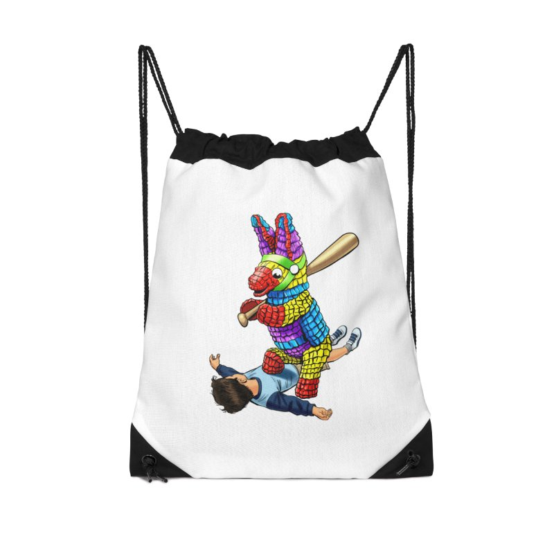 Revenge is Sweet Accessories Drawstring Bag Bag by steveash's Artist Shop