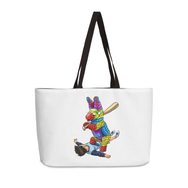 Revenge is Sweet Accessories Weekender Bag Bag by steveash's Artist Shop